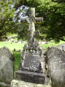 James Biddick's headstone, Purewa